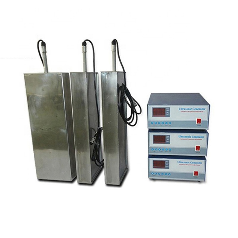 316 Stainless Steel Material Ultrasonic Immersible Transducer Pack Cleaner Bath Use Waterproof Ultrasonic Transducer Plate 600W