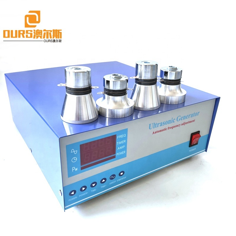 25KHZ 3000W High Power Industrial Cleaning Machine Ultrasonic Generator Transducer Driving Power Source