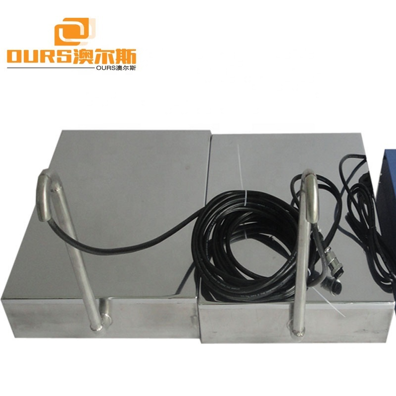 Immersible Ultrasonic Transducer 40KHz 28KHz Plate Ultrasonic Cleaner With Generator