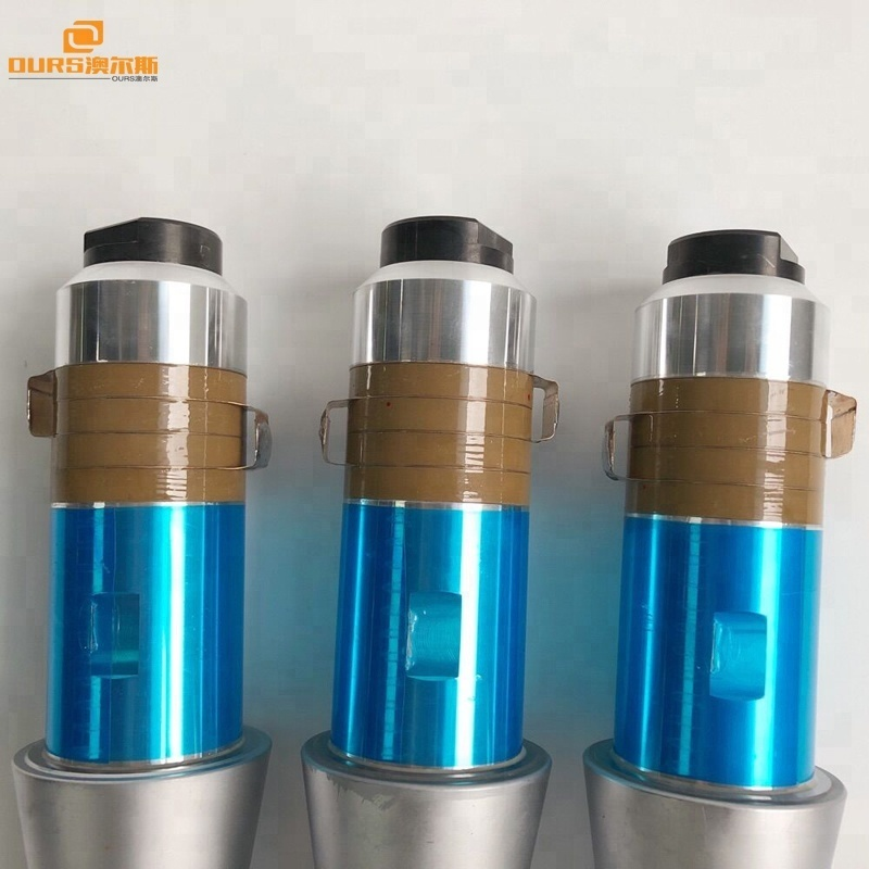 200W/28KHZ  ultrasonic transucer for Desktop Ultrasonic Plastic Welding Machine
