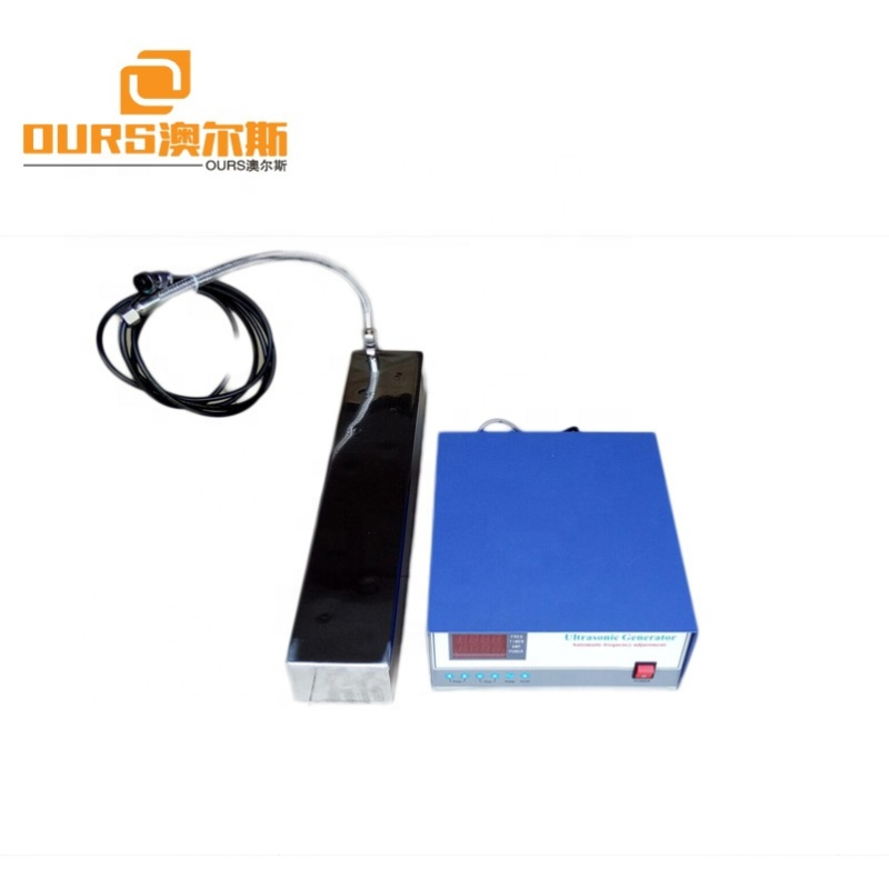 2000W Industrial Immersible Ultrasonic Transducer Pack With Ultrasonic Generator For Industrial Parts Cleaning