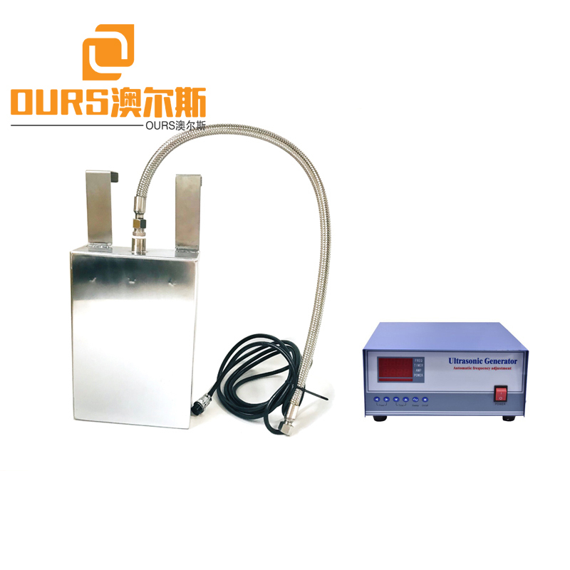 2000W 28KHZ Customized Array Transducer Submersible Ultrasonic Component Cleaning Machine