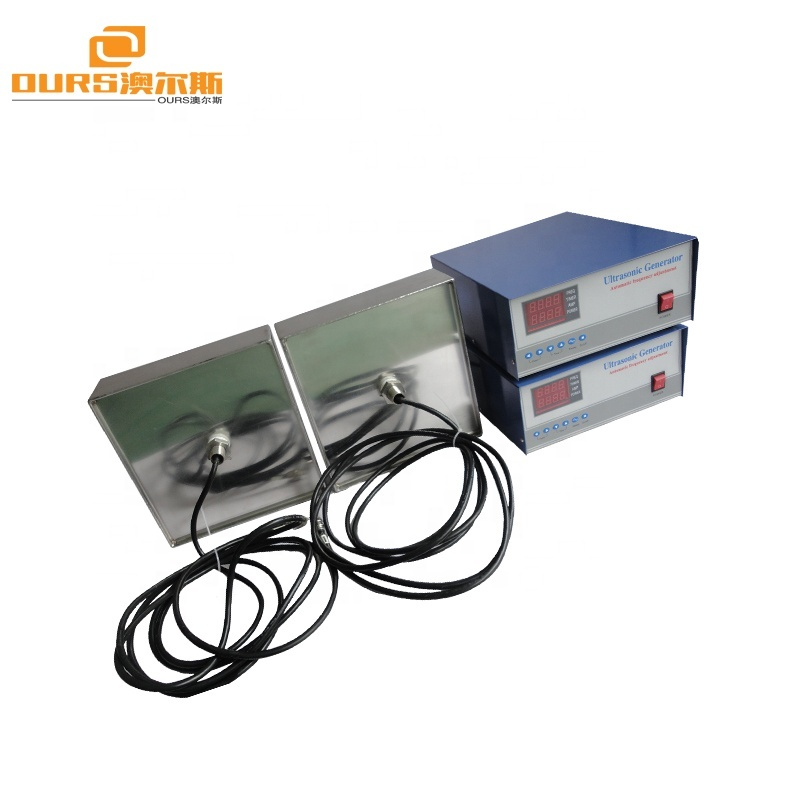 1000W 40KHz/80KHz Dual frequency immersible ultrasonic transducer, Submersible Ultrasonic Transducer