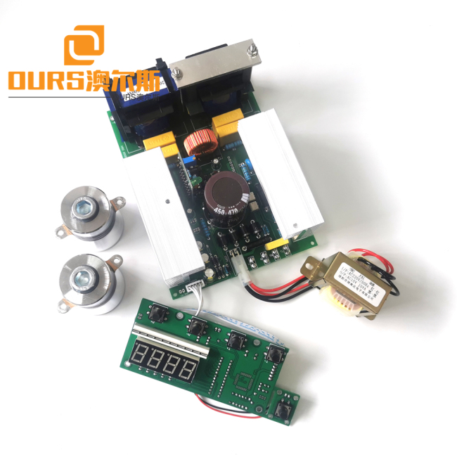 28/40KHZ Ultrasonic Transducer And Ultrasonic Driver PCB For DIY Ultrasonic Cleaner