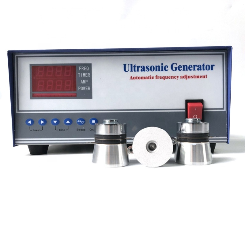 High Frequency Industrial Ultrasonic Generator 60-135KHz For Industrial Cleaning Equipment Commercial Washing Machine