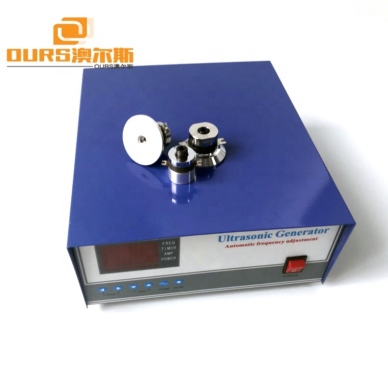 1200W Digital Ultrasonic Cleaning Generator 25KHz Manufacturer
