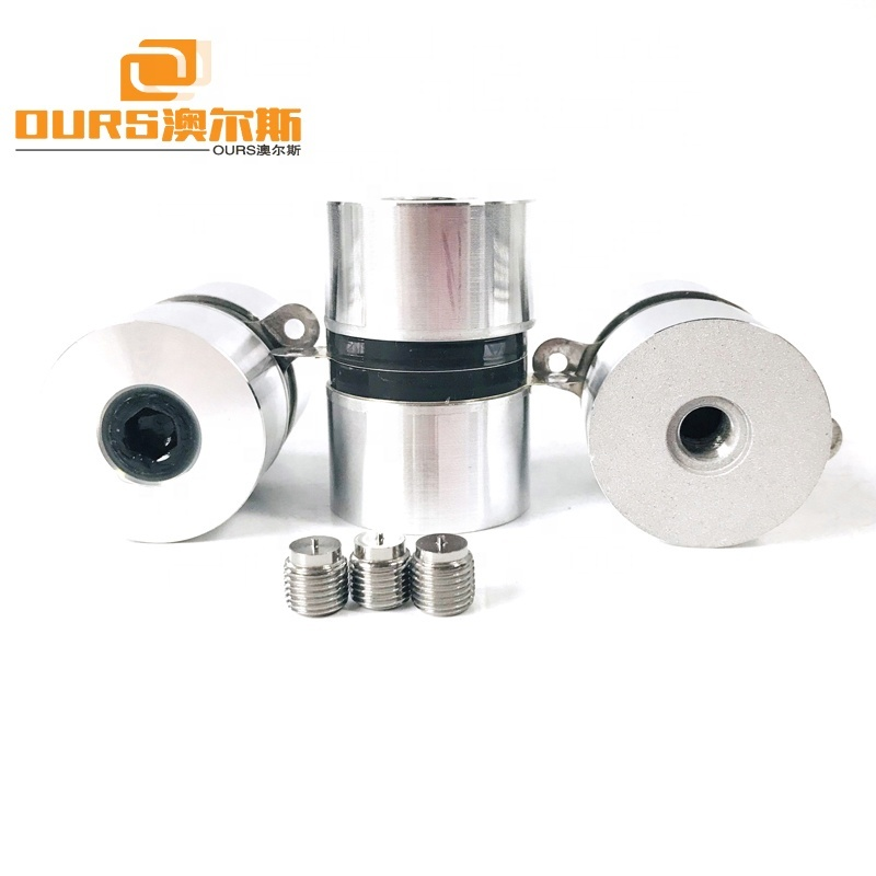 High Frequency Ultrasonic Piezoelectric Ceramic Transducers 120KHz/60W For Ultrasonic Cleaner