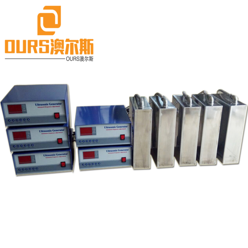 28kHz 40kHz 1000W Dual Frequency  Immersible Ultrasonic Transducers For Auto Parts Cleaning Tank