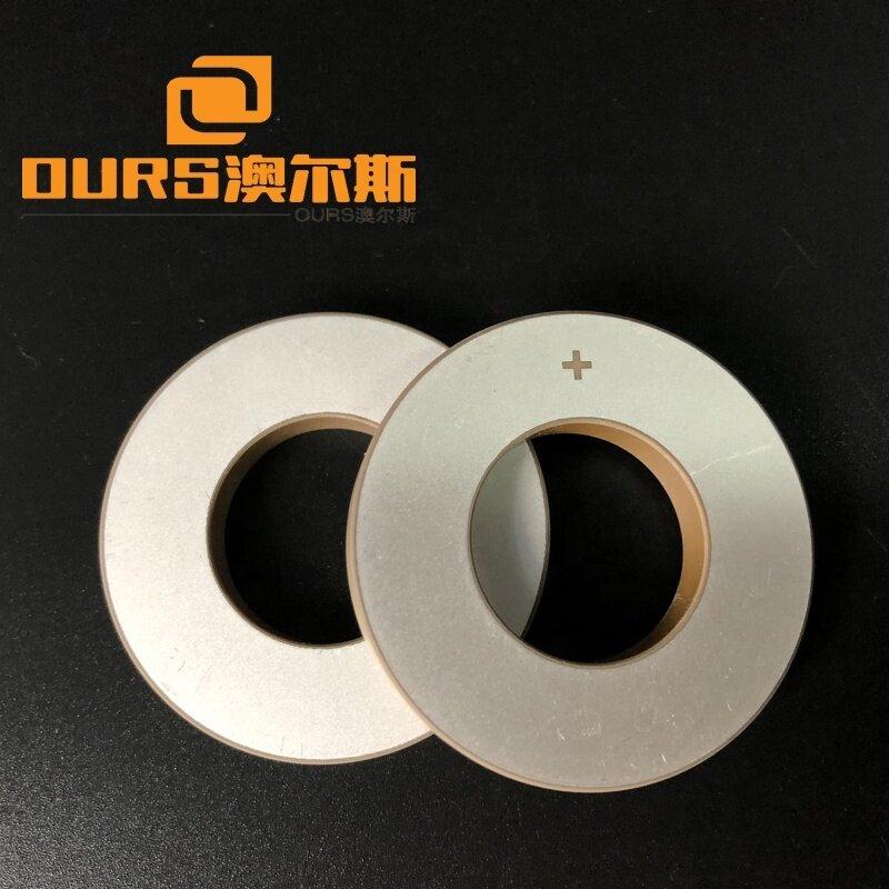 Pzt-4/Pzt-8 28khz/40khz Piezoelectric Ceramic Ring Zirconium Oxide Material Electrode Ultrasonic Piezo Ceramic