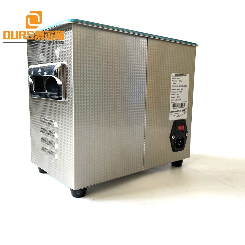 120W Ultrasonic Power And Time Adjustable Table Ultrasonic Cleaner 40KHZ Korean Market Coffee Cup Washer