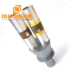 15KHZ 3200W PZT8 Ultrasonic Plastic Welding Transducer With Booster For Nonwoven Face Mask Making Machine