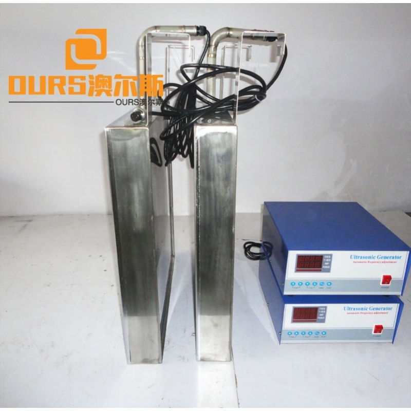 2400W Ultrasonic Immersible Transducer Pack Customized Different Size Ultrasonic Transducer Immersible with Stainless Steel