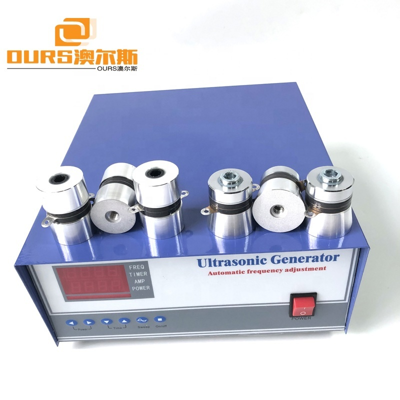 1200W 25~40KHz Ultrasonic Generator And Transducers,Ultrasonic Driver Generator For Immersible Transducer Pack