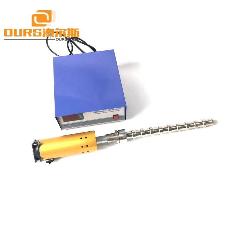 2019 Hot Sale Titanium Alloy Ultrasonic Tube Reactor Cleaning Shock Stick For Biodiesel Processing/Ultrasonic Biodiesel Reactor