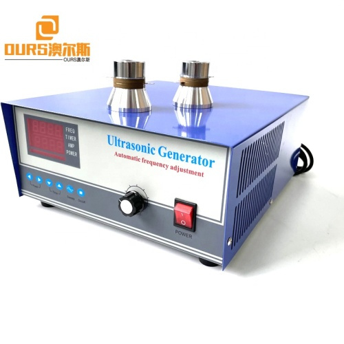 28Khz 600W Industrial Ultrasonic Pulse Wave Generator As Cylinder Head Carburetor Turbocharger DPF Cleaning Machine Driver