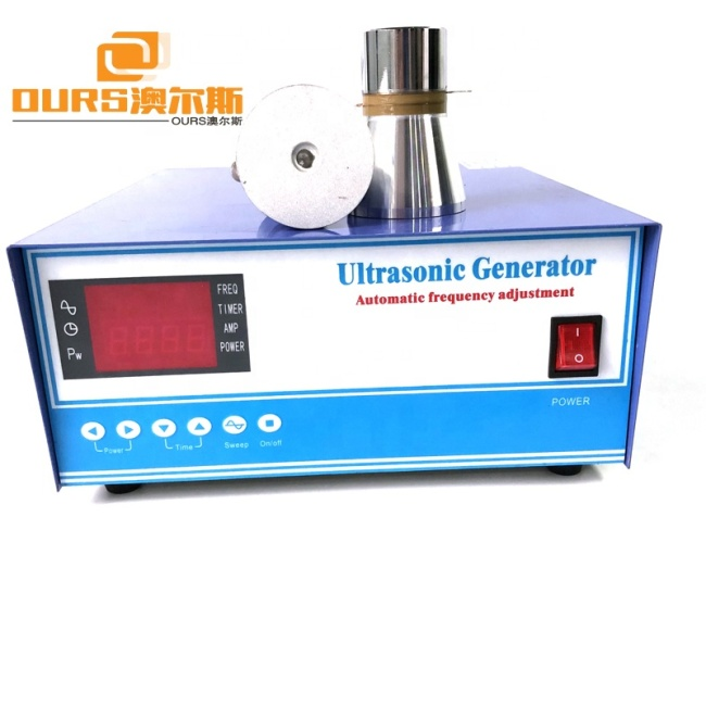 40Khz Ultrasonic Cleaning Generator 6000W Switching Ttransducer With PLC Control 485