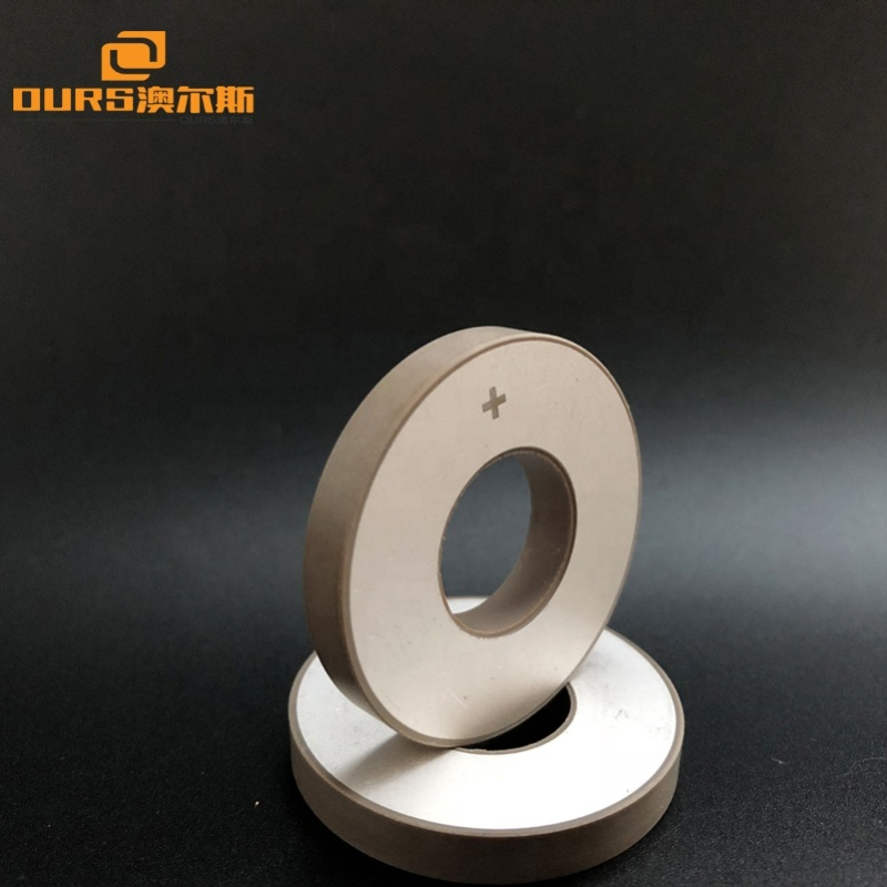 PTZ8 Piezoelectric Material Ring Ultrasonic Piezo Ceramic 35x15x5MM Piezoelectric Ceramic As Transducer Accessories
