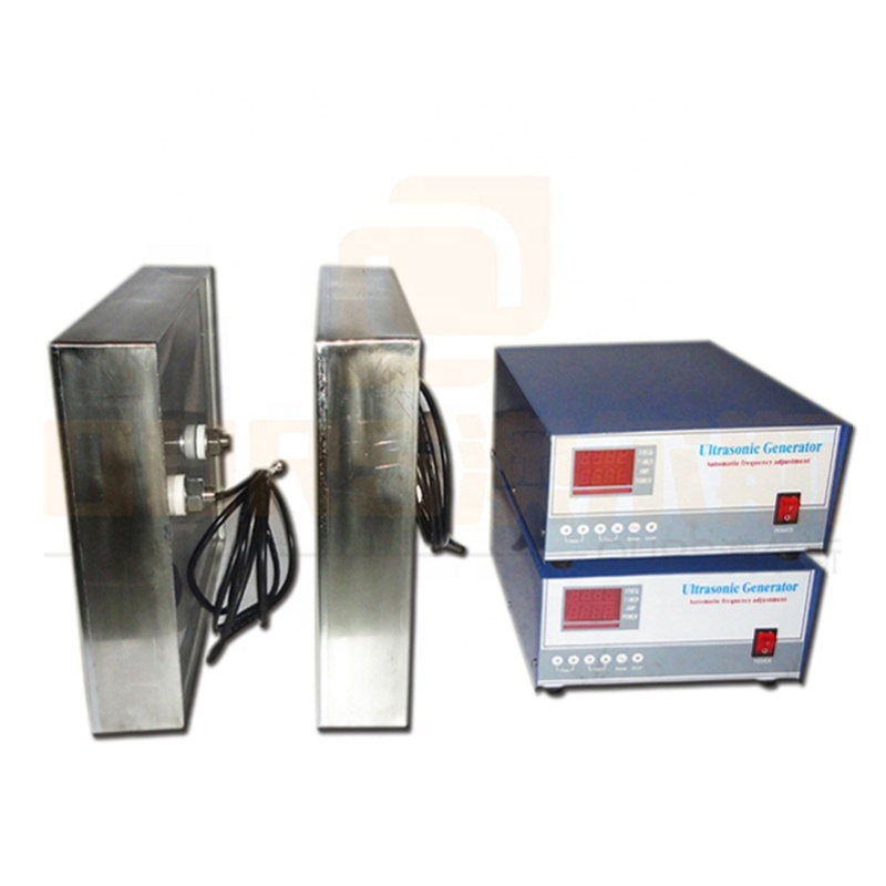Factory Customized Waterproof Cleaning Ultrasonic Transducer Plate Immersible Vibrator Pack And Ultrasonic Cleaner Generator