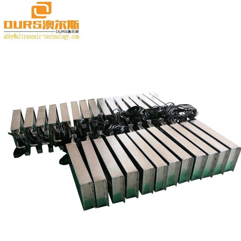 28KHz/40KHz Underwater Ultrasonic Transducer Pack SS316 Stainless Steel Waterproof Ultrasonic Transducer Box