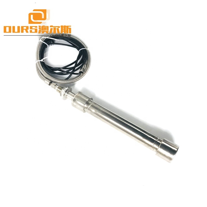 Immersible Ultrasonic Piezoelectric Transducer Cleaner Shock Stick 25KHz Submersible Cleaner Rods