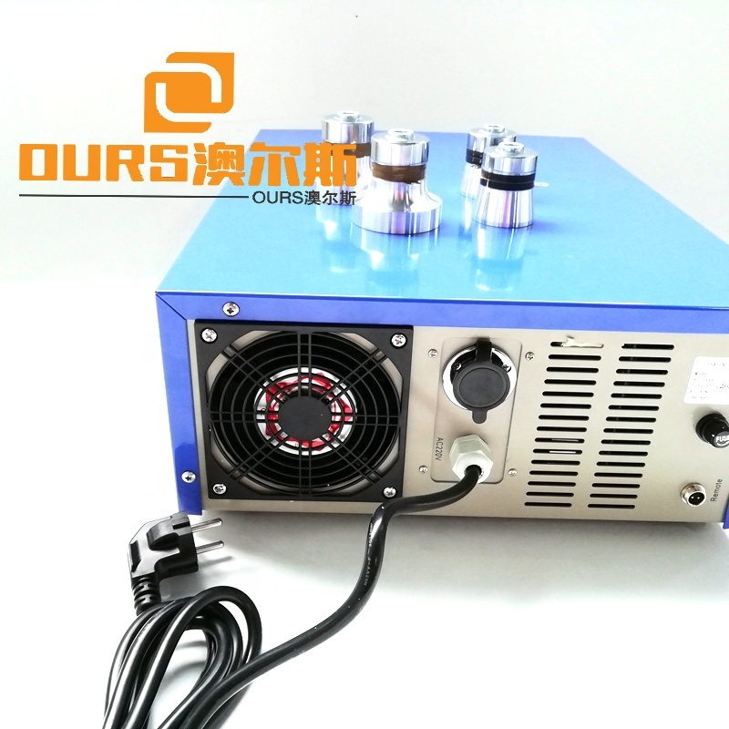 28K/33K/40K P4 Multi-Frequency Washing Circuit Power 600W Ultrasound Cleaning Generator For Industrial Equipment