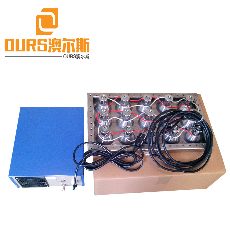 28KHZ 600W Rigid Pipe Stainless Steel Submersible Ultrasonic Transducer For Cleaning HEAD CYLINDERS