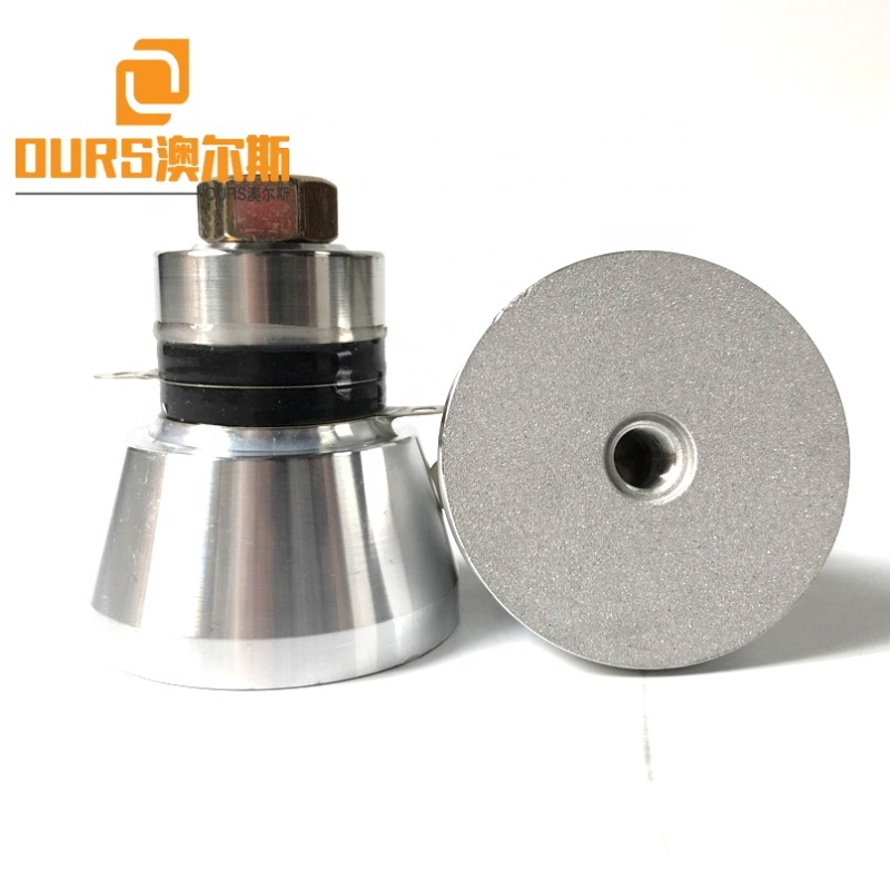 Low Cost Wholesale Piezo Material Cleaner Ultrasonic Transducer 50W Vibration Frequency Ultrasonic Transducer For Cleaning Tank
