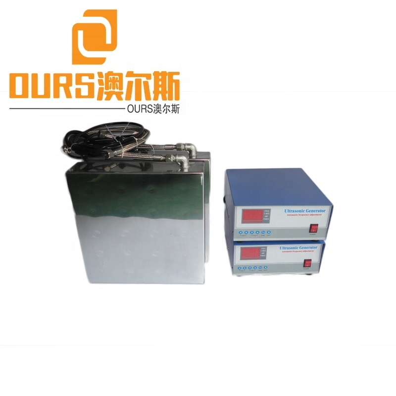 135KHZ 1000W High Frequency Flexible Installation Immersion Ultrasonic Transducer For Auto Parts Cleaning