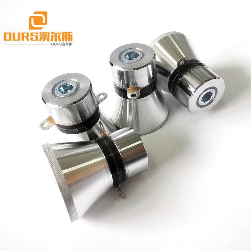 28khz 60w pzt4 Ultrasonic Transducer Manufacturer For Cleaning of Medical Equipment
