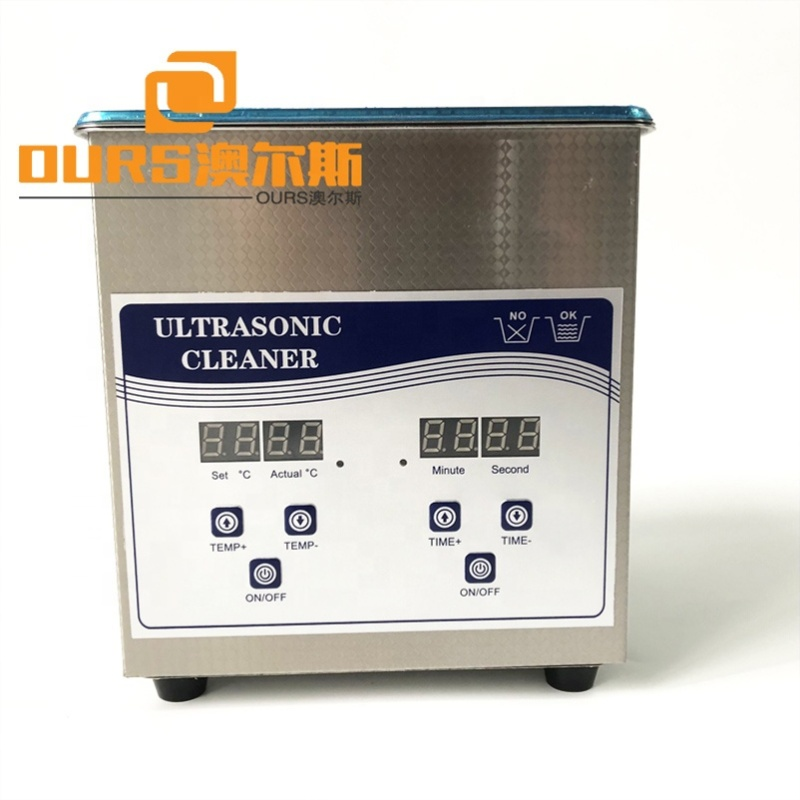 150x135x100MM Dental Lab Use Ultrasonic Cleaner Bath With Timer/Heater 60W For Ultrasonic Vibration Cleaning 220V AC