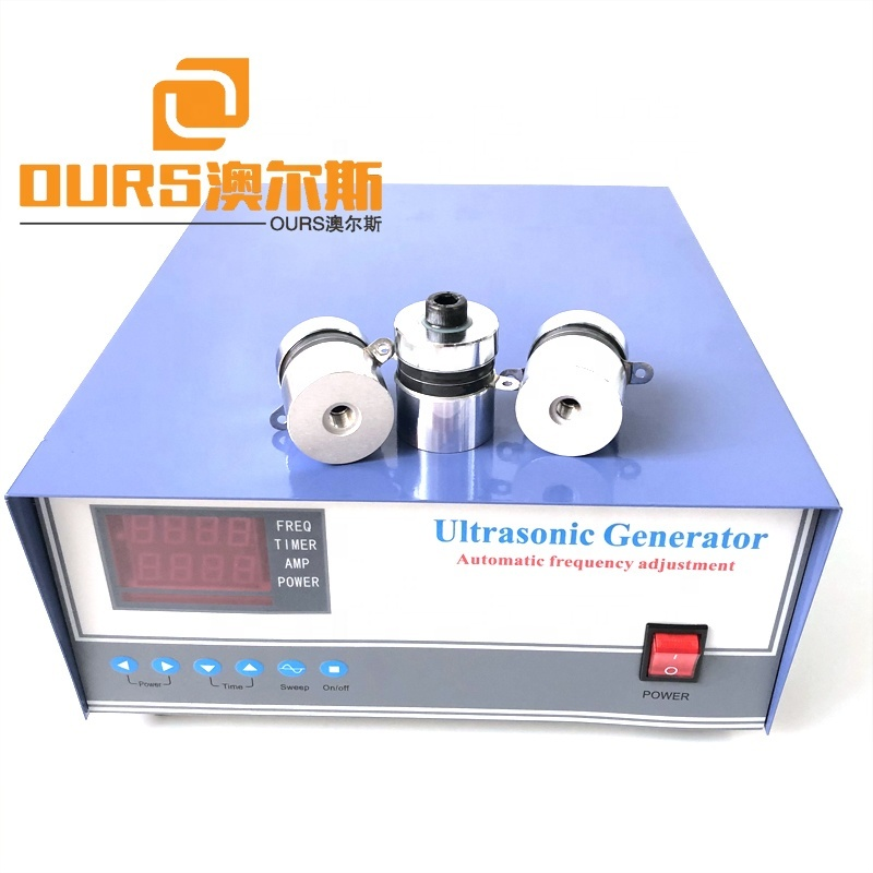 High Frequency Digital Ultrasonic Cleaning Generator 60KHZ 1000W Industrial Ultrasonic Power Generator Box With Sweep Function