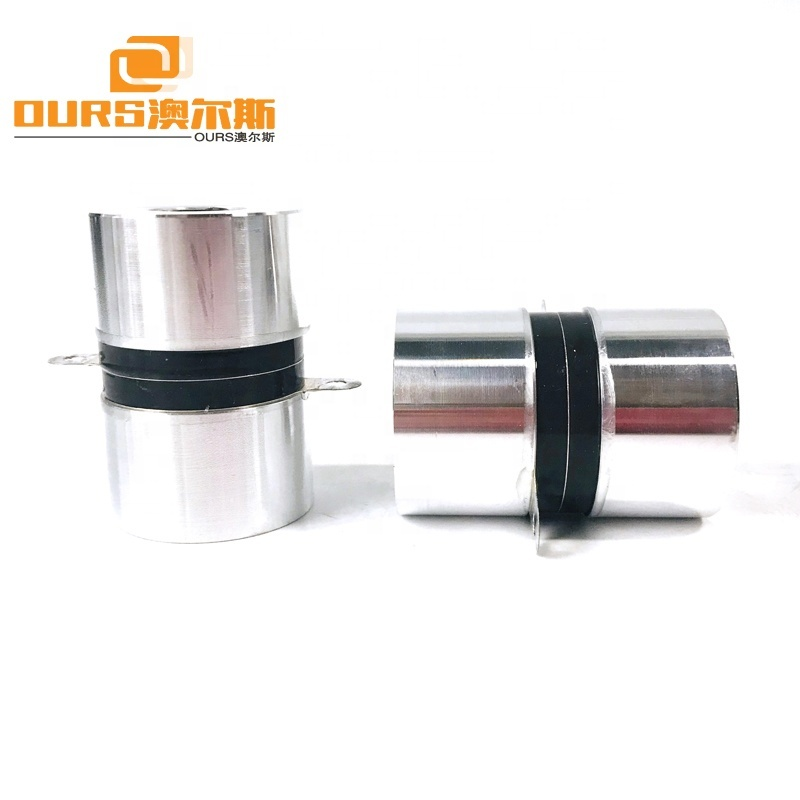 High Frequency Ultrasonic Sensor Transducer 120KHz 60W For Industrial Ultrasonic Cleaner
