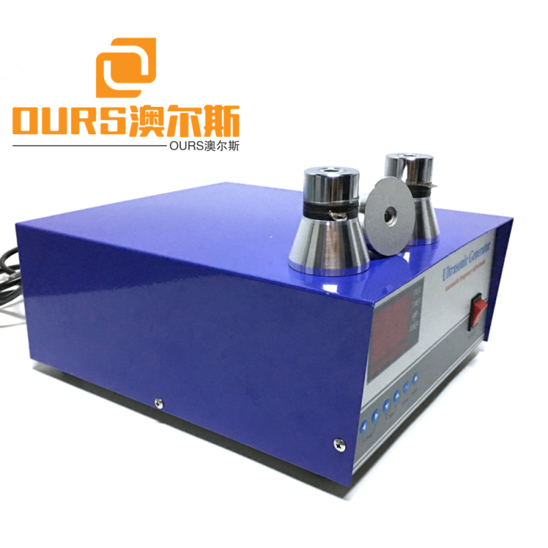 68-135khz High frequency 600w Industry Ultrasonic generator for ultrasonic cleaner