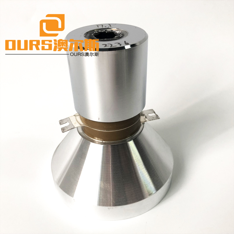 Low Frequency 17Khz 50W Ultrasonic Cleaning Transducer Screw Installation Below Tank Of Cleaner