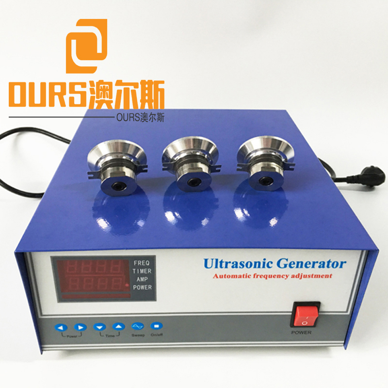 1500W sweep frequency function ultrasonic cleaning generator For Submersible Ultrasonic Cleaner