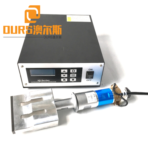 2000W 20KHZ Ultrasonic Welding Generator Transducer Booster With 110mm Horn For Surgical Face Mask Ultrasonic Welding Machine