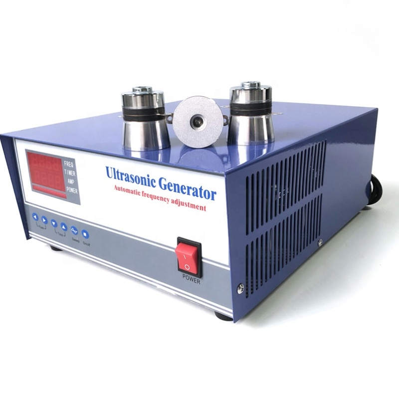 1800W Digital Ultrasonic Generator Driver For Cleaning Tank With Best Price 20KHz-40KHz Frequency Adjustable
