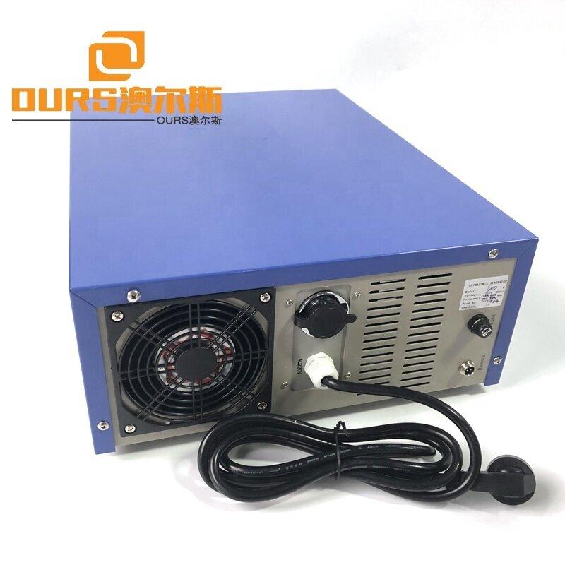 600W Smart Ultrasonic Multi Frequency Generator Power Driver Cleaning Use 28K/60K/70K/84K Piezoelectric Convertor Power Source