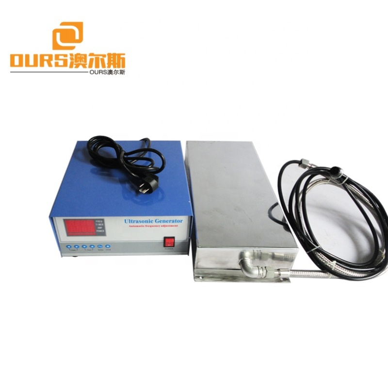 20-40KHz 1800W waterproof ultrasonic transducer with generator for Industrial Cleaning