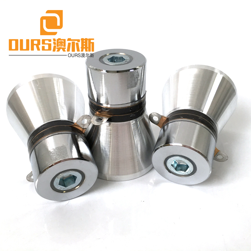 25KHZ 60W PZT-4 Low Freqnency Piezo Ceramic Ultrasonic Cleaning Oscillator For Washing Industrial Parts