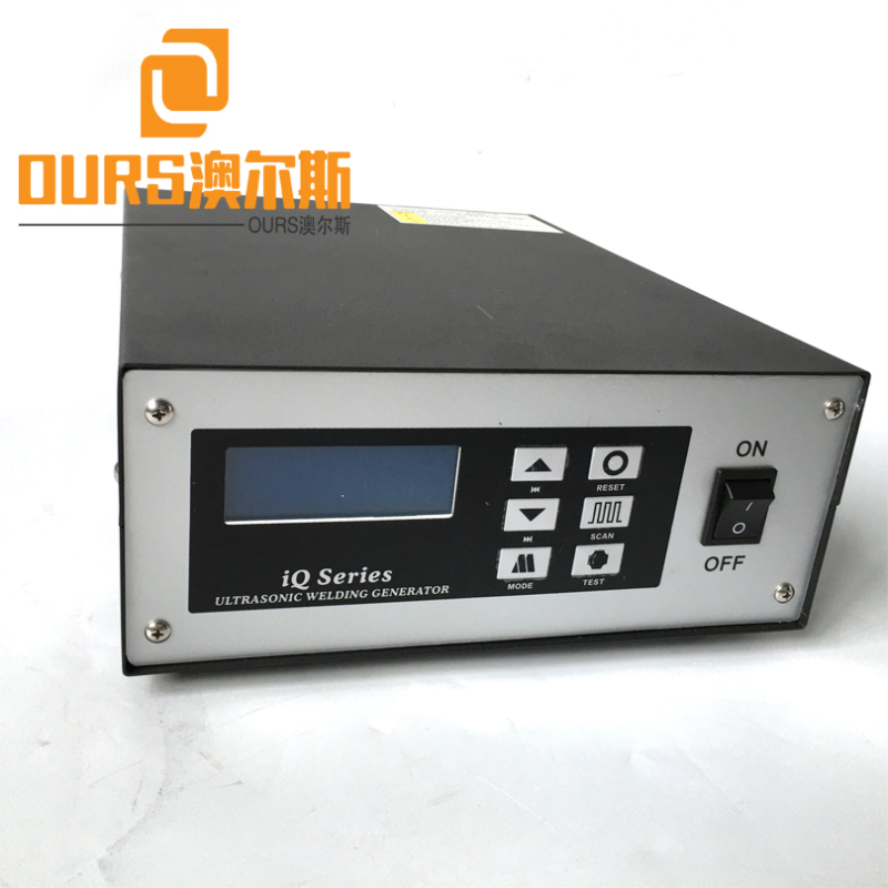 2000W 20KHZ Ultrasonic Generator Transducer Booster Horn For Top Grade Tie-on Ear Loop Welding Machine One-off Mask Machine