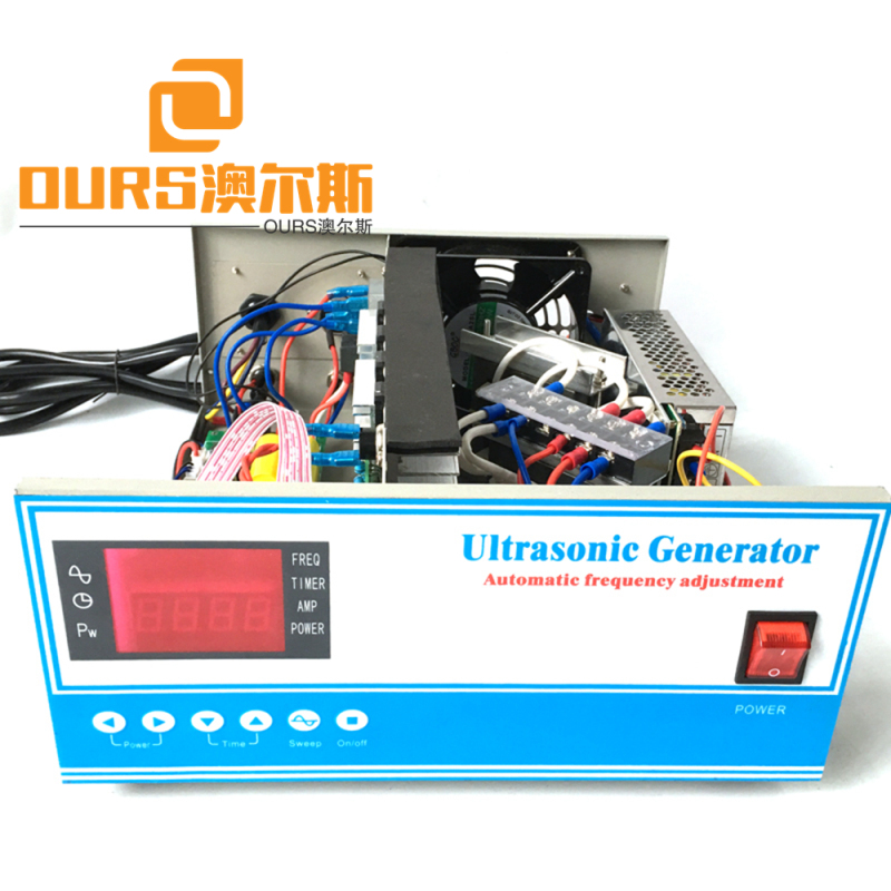1000W RS485 Type Digital Ultrasonic Sound Generator to drive cleaning transducer with PDA