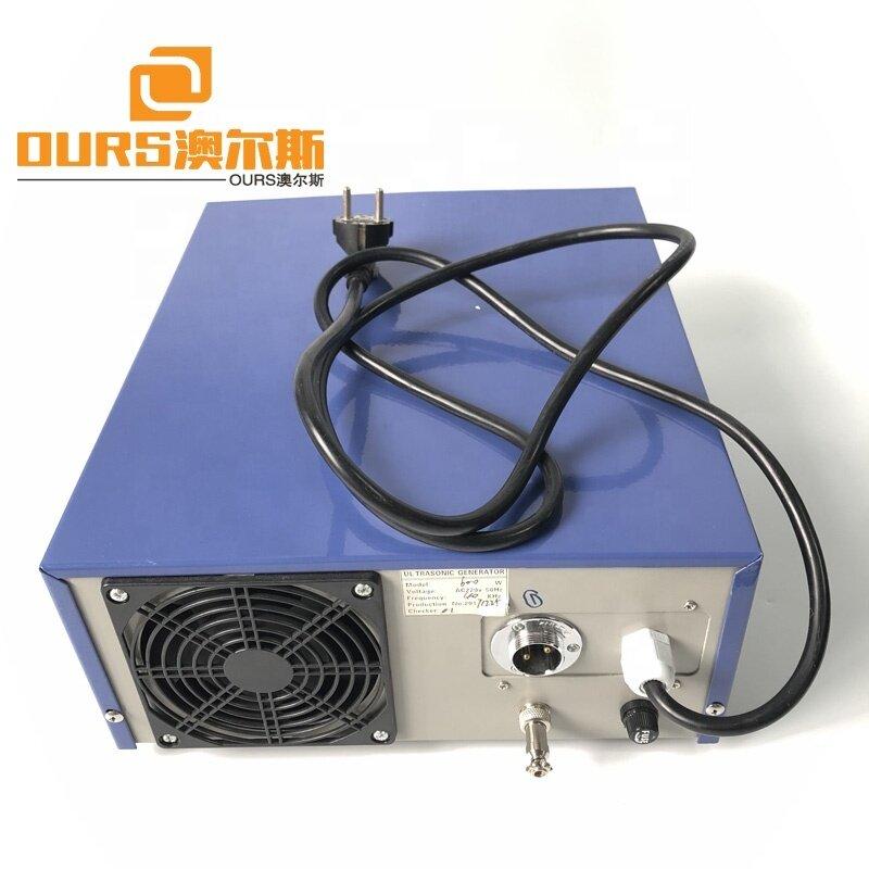 Pulse ultrasonic generator 600W 28K for Industrial ultrasonic cleaning machine Power time adjustable