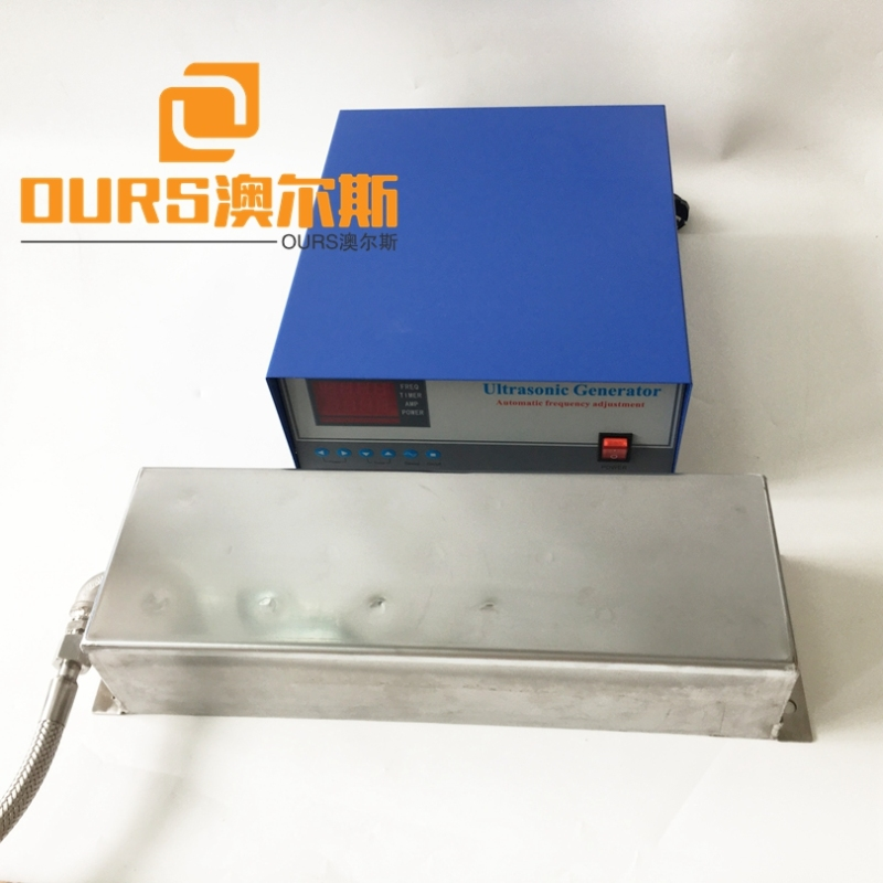 135KHZ High frequency Steel SUS316 Immersible Ultrasonic Transducer For Cleaning Auto Engine Lab Hardware