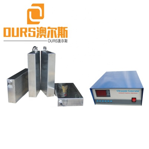 1800W 40khz/28khz Water proof Ultrasonic transducer box high power for Industrial ultrasonic cleaning application