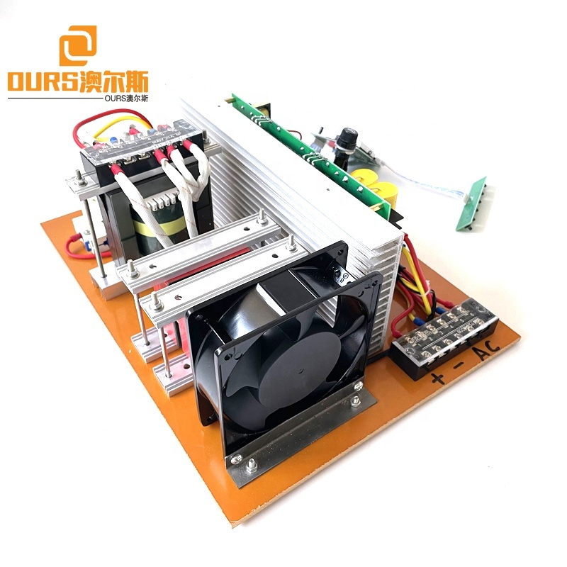300W 25K 28K 33K 40K Single Frequency Ultrasound Circuit Generator PCB As Piezoceramic Transducer Cleaner Accessories