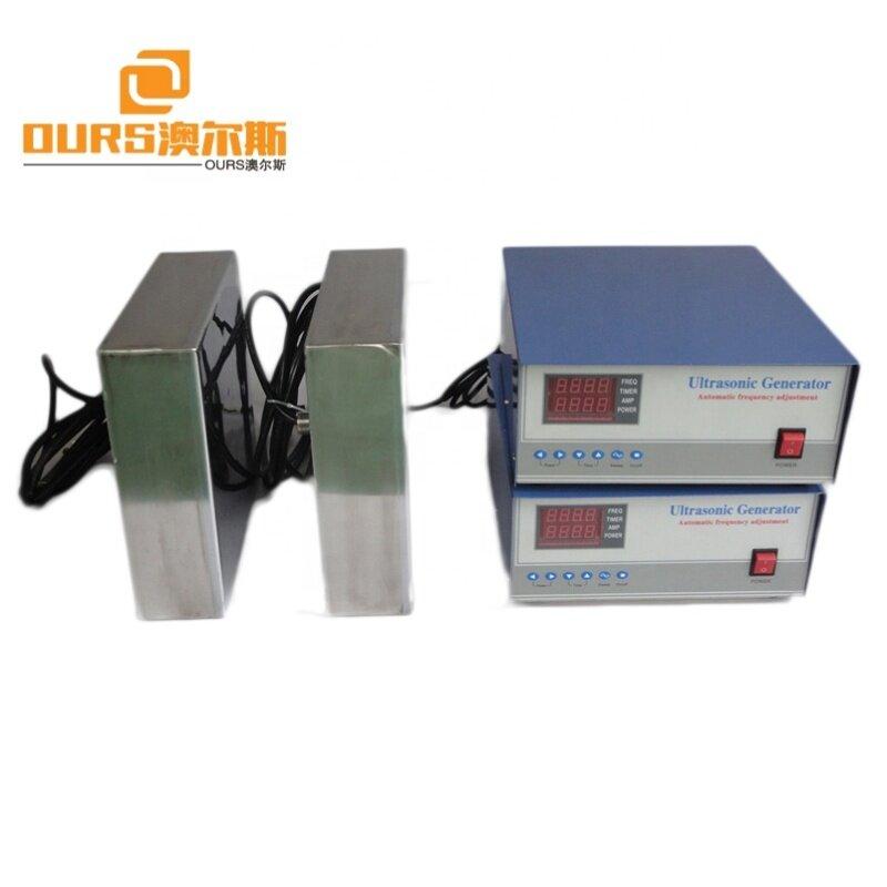 Industry Ultrasonic Vibrator Box Immersible Ultrasonic Transducer Drop In Best Ultrasonic Cleaner