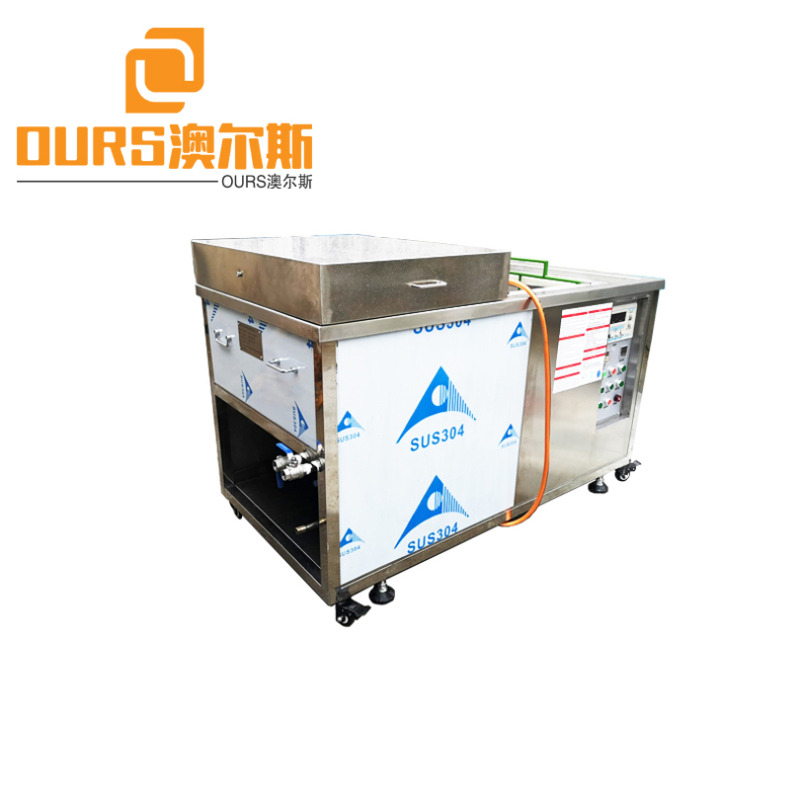 2000W 25KHZ/28KHZ Heated Ultrasonic Electrolytic Cleaning Machine Of Plastic Injection Mold Ultrasonic Cleaning
