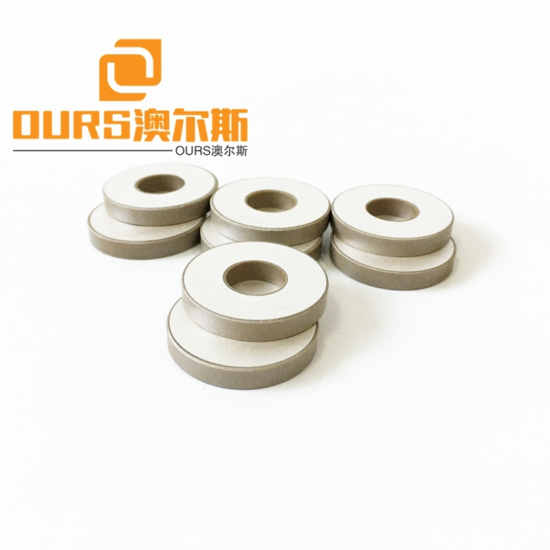 Factory Supply 38*13*6.3mm Ring Piezoelectric Ceramic P4 P8 Material For Ultrasonic Cleaning Ducer