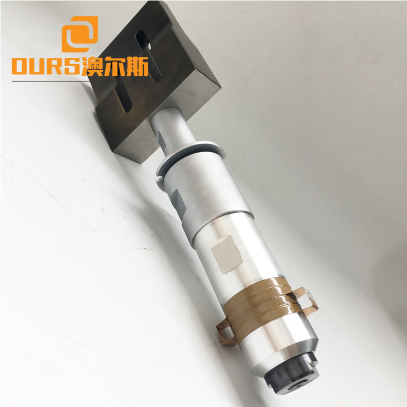 15KHZ High Performance ultrasonic transducer vibrator with booster for medical face Ultrasonic Welding